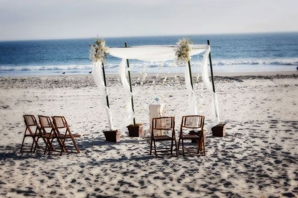Coronado Island Beach Wedding Permit